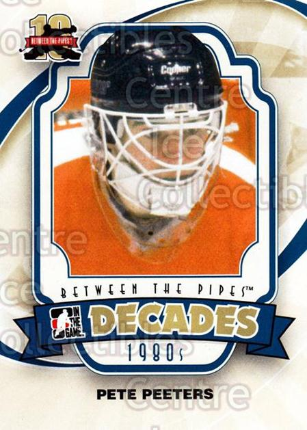 2011-12 Between The Pipes #138 Pete Peeters<br/>17 In Stock - $1.00 each - <a href=https://centericecollectibles.foxycart.com/cart?name=2011-12%20Between%20The%20Pipes%20%23138%20Pete%20Peeters...&quantity_max=17&price=$1.00&code=472679 class=foxycart> Buy it now! </a>
