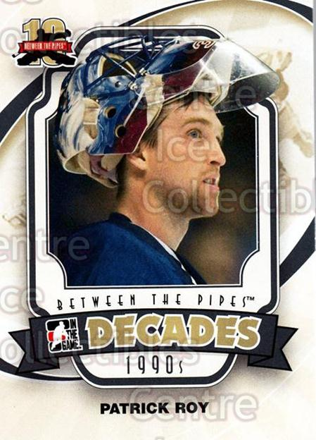 2011-12 Between The Pipes #144 Patrick Roy<br/>15 In Stock - $2.00 each - <a href=https://centericecollectibles.foxycart.com/cart?name=2011-12%20Between%20The%20Pipes%20%23144%20Patrick%20Roy...&quantity_max=15&price=$2.00&code=472685 class=foxycart> Buy it now! </a>