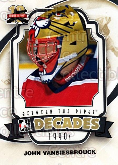 2011-12 Between The Pipes #150 John Vanbiesbrouck<br/>18 In Stock - $1.00 each - <a href=https://centericecollectibles.foxycart.com/cart?name=2011-12%20Between%20The%20Pipes%20%23150%20John%20Vanbiesbro...&quantity_max=18&price=$1.00&code=472691 class=foxycart> Buy it now! </a>