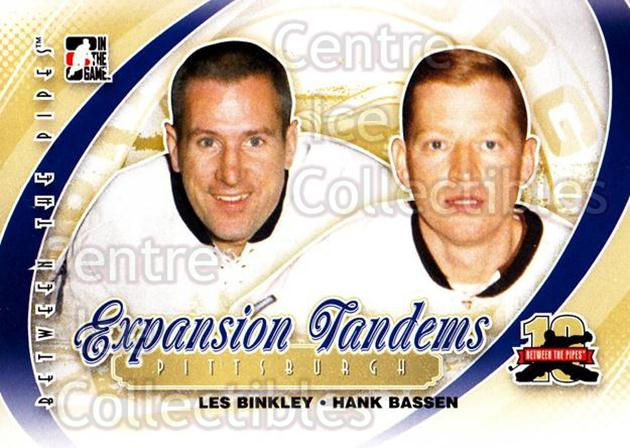 2011-12 Between The Pipes #193 Les Binkley, Hank Bassen<br/>17 In Stock - $1.00 each - <a href=https://centericecollectibles.foxycart.com/cart?name=2011-12%20Between%20The%20Pipes%20%23193%20Les%20Binkley,%20Ha...&quantity_max=17&price=$1.00&code=472734 class=foxycart> Buy it now! </a>