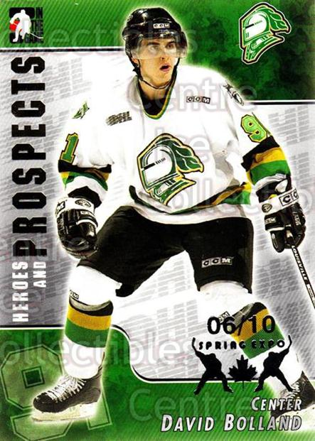 2004-05 ITG Heroes and Prospects Spring Expo #68 David Bolland<br/>1 In Stock - $5.00 each - <a href=https://centericecollectibles.foxycart.com/cart?name=2004-05%20ITG%20Heroes%20and%20Prospects%20Spring%20Expo%20%2368%20David%20Bolland...&quantity_max=1&price=$5.00&code=472949 class=foxycart> Buy it now! </a>