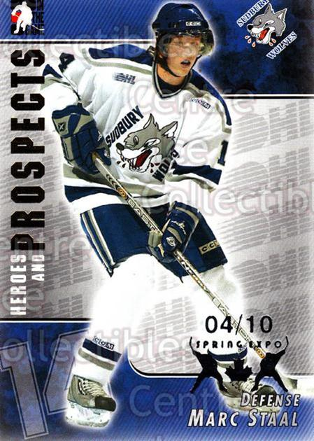 2004-05 ITG Heroes and Prospects Spring Expo #89 Marc Staal<br/>1 In Stock - $5.00 each - <a href=https://centericecollectibles.foxycart.com/cart?name=2004-05%20ITG%20Heroes%20and%20Prospects%20Spring%20Expo%20%2389%20Marc%20Staal...&quantity_max=1&price=$5.00&code=472969 class=foxycart> Buy it now! </a>