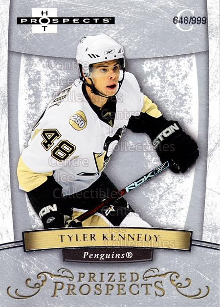 2007-08 Hot Prospects #162 Tyler Kennedy<br/>3 In Stock - $3.00 each - <a href=https://centericecollectibles.foxycart.com/cart?name=2007-08%20Hot%20Prospects%20%23162%20Tyler%20Kennedy...&quantity_max=3&price=$3.00&code=473041 class=foxycart> Buy it now! </a>