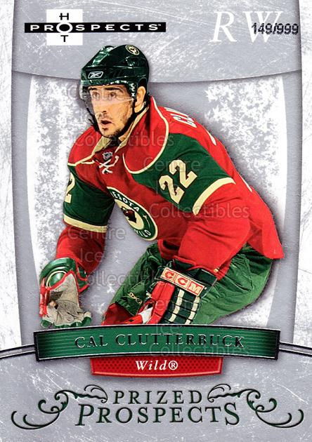2007-08 Hot Prospects #164 Cal Clutterbuck<br/>1 In Stock - $3.00 each - <a href=https://centericecollectibles.foxycart.com/cart?name=2007-08%20Hot%20Prospects%20%23164%20Cal%20Clutterbuck...&quantity_max=1&price=$3.00&code=473043 class=foxycart> Buy it now! </a>