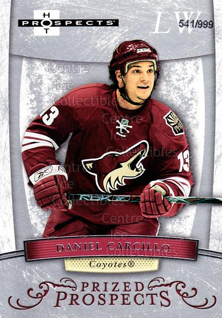 2007-08 Hot Prospects #166 Daniel Carcillo<br/>1 In Stock - $3.00 each - <a href=https://centericecollectibles.foxycart.com/cart?name=2007-08%20Hot%20Prospects%20%23166%20Daniel%20Carcillo...&quantity_max=1&price=$3.00&code=473045 class=foxycart> Buy it now! </a>