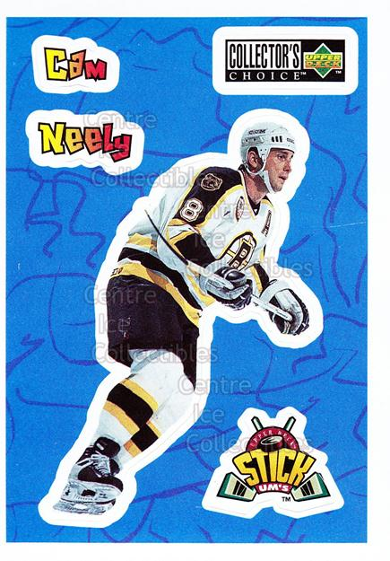 1996-97 Collectors Choice Stick Ums #5 Cam Neely<br/>12 In Stock - $1.00 each - <a href=https://centericecollectibles.foxycart.com/cart?name=1996-97%20Collectors%20Choice%20Stick%20Ums%20%235%20Cam%20Neely...&quantity_max=12&price=$1.00&code=47312 class=foxycart> Buy it now! </a>