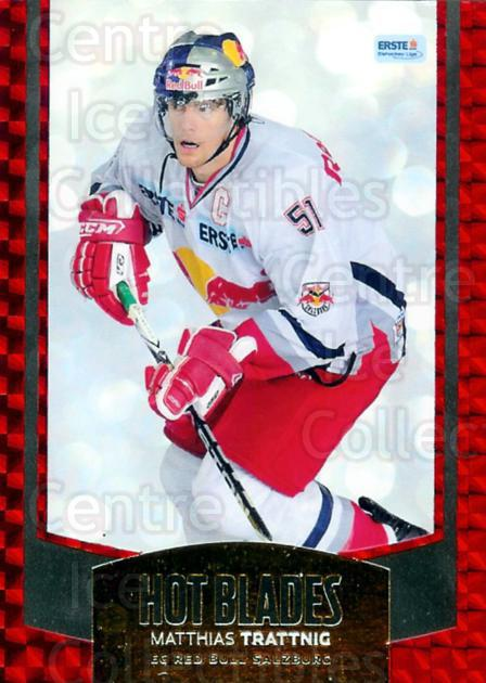 2011-12 Erste Bank Eishockey Liga EBEL Hot Blades #1 Matthias Trattnig<br/>1 In Stock - $3.00 each - <a href=https://centericecollectibles.foxycart.com/cart?name=2011-12%20Erste%20Bank%20Eishockey%20Liga%20EBEL%20Hot%20Blades%20%231%20Matthias%20Trattn...&quantity_max=1&price=$3.00&code=473136 class=foxycart> Buy it now! </a>