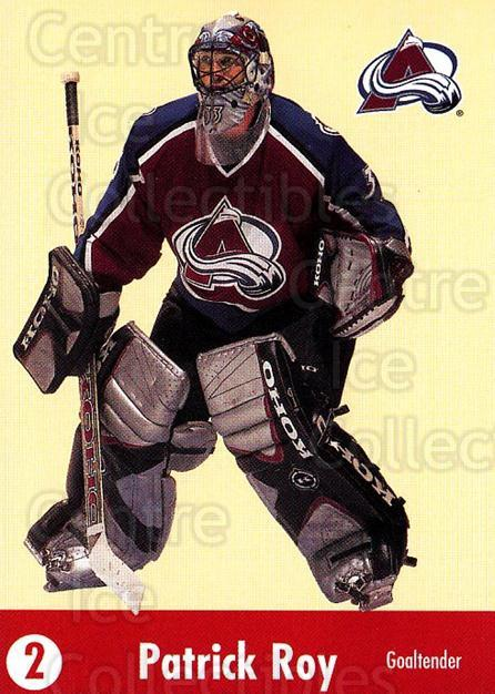 2001-02 Parkhurst Points #16 Patrick Roy<br/>1 In Stock - $5.00 each - <a href=https://centericecollectibles.foxycart.com/cart?name=2001-02%20Parkhurst%20Points%20%2316%20Patrick%20Roy...&price=$5.00&code=473150 class=foxycart> Buy it now! </a>