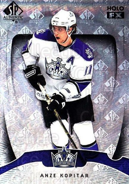 2009-10 SP Authentic Holoview FX #2 Anze Kopitar<br/>1 In Stock - $2.00 each - <a href=https://centericecollectibles.foxycart.com/cart?name=2009-10%20SP%20Authentic%20Holoview%20FX%20%232%20Anze%20Kopitar...&quantity_max=1&price=$2.00&code=473227 class=foxycart> Buy it now! </a>