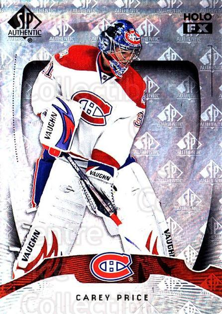 2009-10 SP Authentic Holoview FX #4 Carey Price<br/>1 In Stock - $3.00 each - <a href=https://centericecollectibles.foxycart.com/cart?name=2009-10%20SP%20Authentic%20Holoview%20FX%20%234%20Carey%20Price...&price=$3.00&code=473229 class=foxycart> Buy it now! </a>