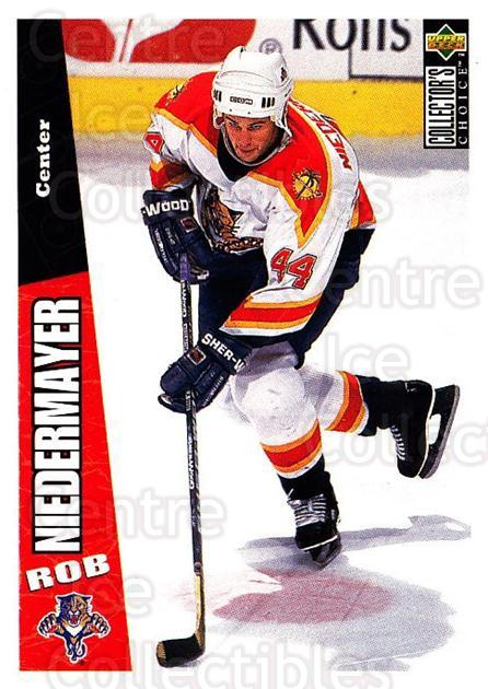 1996-97 Collectors Choice #103 Rob Niedermayer<br/>4 In Stock - $1.00 each - <a href=https://centericecollectibles.foxycart.com/cart?name=1996-97%20Collectors%20Choice%20%23103%20Rob%20Niedermayer...&quantity_max=4&price=$1.00&code=47322 class=foxycart> Buy it now! </a>
