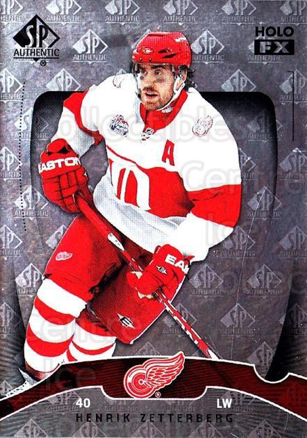 2009-10 SP Authentic Holoview FX #9 Henrik Zetterberg<br/>1 In Stock - $2.00 each - <a href=https://centericecollectibles.foxycart.com/cart?name=2009-10%20SP%20Authentic%20Holoview%20FX%20%239%20Henrik%20Zetterbe...&quantity_max=1&price=$2.00&code=473234 class=foxycart> Buy it now! </a>