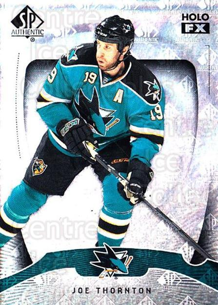 2009-10 SP Authentic Holoview FX #14 Joe Thornton<br/>1 In Stock - $2.00 each - <a href=https://centericecollectibles.foxycart.com/cart?name=2009-10%20SP%20Authentic%20Holoview%20FX%20%2314%20Joe%20Thornton...&quantity_max=1&price=$2.00&code=473239 class=foxycart> Buy it now! </a>