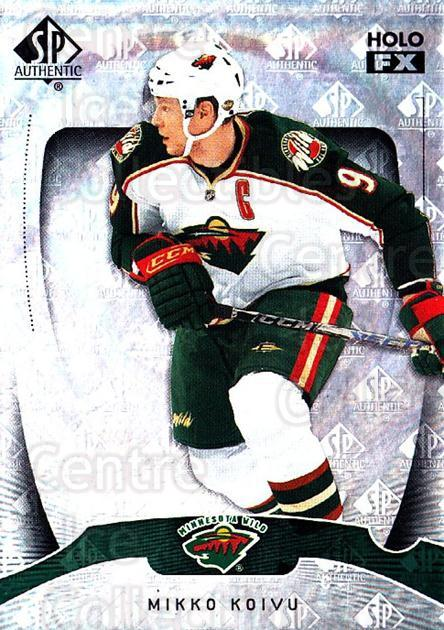 2009-10 SP Authentic Holoview FX #24 Mikko Koivu<br/>1 In Stock - $2.00 each - <a href=https://centericecollectibles.foxycart.com/cart?name=2009-10%20SP%20Authentic%20Holoview%20FX%20%2324%20Mikko%20Koivu...&quantity_max=1&price=$2.00&code=473249 class=foxycart> Buy it now! </a>