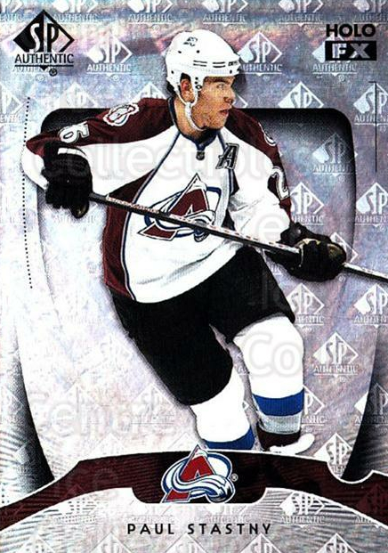 2009-10 SP Authentic Holoview FX #28 Paul Stastny<br/>3 In Stock - $2.00 each - <a href=https://centericecollectibles.foxycart.com/cart?name=2009-10%20SP%20Authentic%20Holoview%20FX%20%2328%20Paul%20Stastny...&quantity_max=3&price=$2.00&code=473253 class=foxycart> Buy it now! </a>