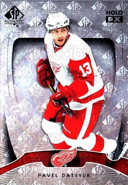2009-10 SP Authentic Holoview FX #29 Pavel Datsyuk<br/>1 In Stock - $3.00 each - <a href=https://centericecollectibles.foxycart.com/cart?name=2009-10%20SP%20Authentic%20Holoview%20FX%20%2329%20Pavel%20Datsyuk...&quantity_max=1&price=$3.00&code=473254 class=foxycart> Buy it now! </a>