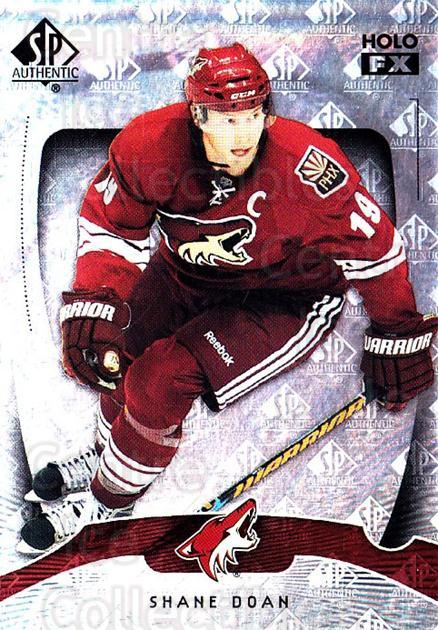 2009-10 SP Authentic Holoview FX #36 Shane Doan<br/>2 In Stock - $2.00 each - <a href=https://centericecollectibles.foxycart.com/cart?name=2009-10%20SP%20Authentic%20Holoview%20FX%20%2336%20Shane%20Doan...&quantity_max=2&price=$2.00&code=473261 class=foxycart> Buy it now! </a>