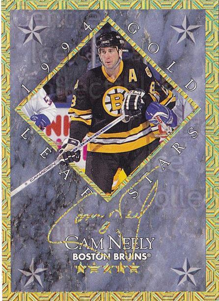 1994-95 Leaf Gold Stars #9 Cam Neely, Mikael Renberg<br/>1 In Stock - $10.00 each - <a href=https://centericecollectibles.foxycart.com/cart?name=1994-95%20Leaf%20Gold%20Stars%20%239%20Cam%20Neely,%20Mika...&price=$10.00&code=473312 class=foxycart> Buy it now! </a>