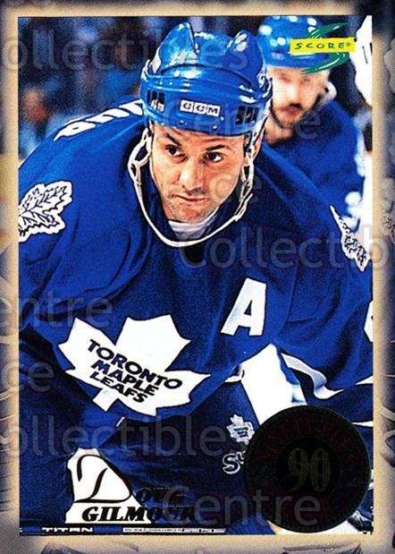 1994-95 Score 90 Plus Club #4 Doug Gilmour<br/>1 In Stock - $3.00 each - <a href=https://centericecollectibles.foxycart.com/cart?name=1994-95%20Score%2090%20Plus%20Club%20%234%20Doug%20Gilmour...&quantity_max=1&price=$3.00&code=473332 class=foxycart> Buy it now! </a>