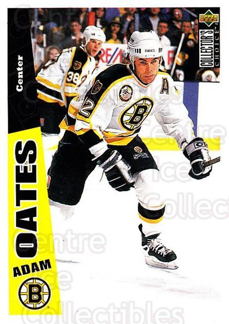 1996-97 Collectors Choice #12 Adam Oates<br/>2 In Stock - $1.00 each - <a href=https://centericecollectibles.foxycart.com/cart?name=1996-97%20Collectors%20Choice%20%2312%20Adam%20Oates...&quantity_max=2&price=$1.00&code=47340 class=foxycart> Buy it now! </a>