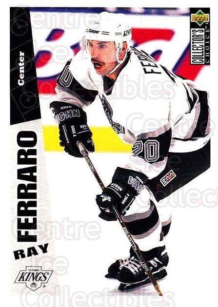 1996-97 Collectors Choice #131 Ray Ferraro<br/>3 In Stock - $1.00 each - <a href=https://centericecollectibles.foxycart.com/cart?name=1996-97%20Collectors%20Choice%20%23131%20Ray%20Ferraro...&quantity_max=3&price=$1.00&code=47353 class=foxycart> Buy it now! </a>