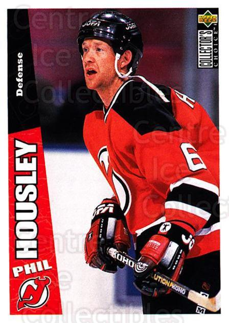 1996-97 Collectors Choice #150 Phil Housley<br/>3 In Stock - $1.00 each - <a href=https://centericecollectibles.foxycart.com/cart?name=1996-97%20Collectors%20Choice%20%23150%20Phil%20Housley...&quantity_max=3&price=$1.00&code=47374 class=foxycart> Buy it now! </a>