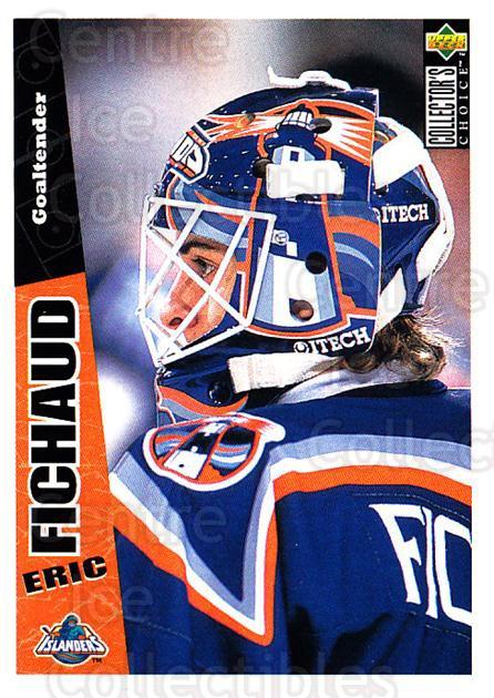 1996-97 Collectors Choice #155 Eric Fichaud<br/>2 In Stock - $1.00 each - <a href=https://centericecollectibles.foxycart.com/cart?name=1996-97%20Collectors%20Choice%20%23155%20Eric%20Fichaud...&price=$1.00&code=47379 class=foxycart> Buy it now! </a>