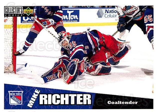 1996-97 Collectors Choice #167 Mike Richter<br/>3 In Stock - $1.00 each - <a href=https://centericecollectibles.foxycart.com/cart?name=1996-97%20Collectors%20Choice%20%23167%20Mike%20Richter...&quantity_max=3&price=$1.00&code=47392 class=foxycart> Buy it now! </a>