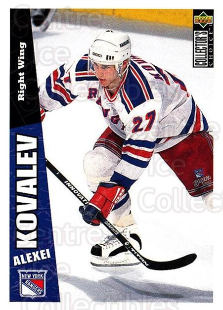 1996-97 Collectors Choice #176 Alexei Kovalev<br/>4 In Stock - $1.00 each - <a href=https://centericecollectibles.foxycart.com/cart?name=1996-97%20Collectors%20Choice%20%23176%20Alexei%20Kovalev...&quantity_max=4&price=$1.00&code=47401 class=foxycart> Buy it now! </a>