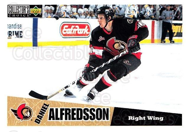 1996-97 Collectors Choice #177 Daniel Alfredsson<br/>4 In Stock - $1.00 each - <a href=https://centericecollectibles.foxycart.com/cart?name=1996-97%20Collectors%20Choice%20%23177%20Daniel%20Alfredss...&quantity_max=4&price=$1.00&code=47402 class=foxycart> Buy it now! </a>