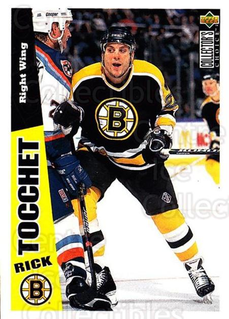 1996-97 Collectors Choice #18 Rick Tocchet<br/>2 In Stock - $1.00 each - <a href=https://centericecollectibles.foxycart.com/cart?name=1996-97%20Collectors%20Choice%20%2318%20Rick%20Tocchet...&quantity_max=2&price=$1.00&code=47405 class=foxycart> Buy it now! </a>