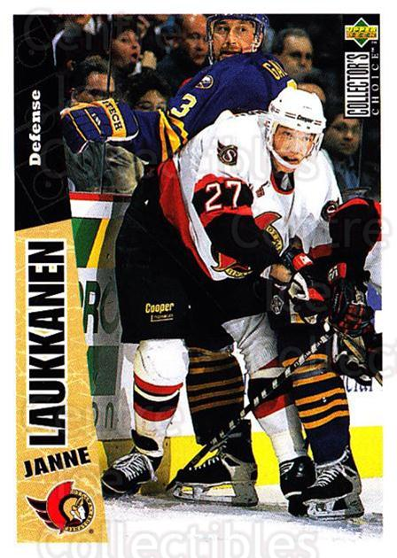 1996-97 Collectors Choice #187 Janne Laukkanen<br/>3 In Stock - $1.00 each - <a href=https://centericecollectibles.foxycart.com/cart?name=1996-97%20Collectors%20Choice%20%23187%20Janne%20Laukkanen...&quantity_max=3&price=$1.00&code=47413 class=foxycart> Buy it now! </a>