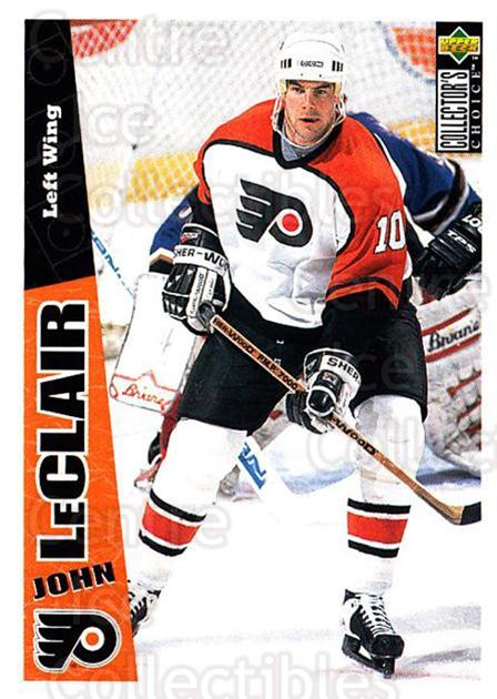 1996-97 Collectors Choice #190 John LeClair<br/>3 In Stock - $1.00 each - <a href=https://centericecollectibles.foxycart.com/cart?name=1996-97%20Collectors%20Choice%20%23190%20John%20LeClair...&quantity_max=3&price=$1.00&code=47416 class=foxycart> Buy it now! </a>