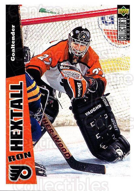 1996-97 Collectors Choice #191 Ron Hextall<br/>2 In Stock - $1.00 each - <a href=https://centericecollectibles.foxycart.com/cart?name=1996-97%20Collectors%20Choice%20%23191%20Ron%20Hextall...&quantity_max=2&price=$1.00&code=47417 class=foxycart> Buy it now! </a>