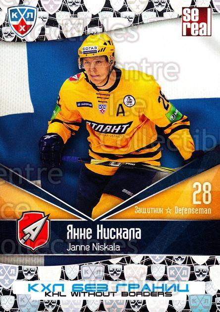 2011-12 Russian KHL AS Series Without Borders #28 Janne Niskala<br/>4 In Stock - $2.00 each - <a href=https://centericecollectibles.foxycart.com/cart?name=2011-12%20Russian%20KHL%20AS%20Series%20Without%20Borders%20%2328%20Janne%20Niskala...&quantity_max=4&price=$2.00&code=474225 class=foxycart> Buy it now! </a>