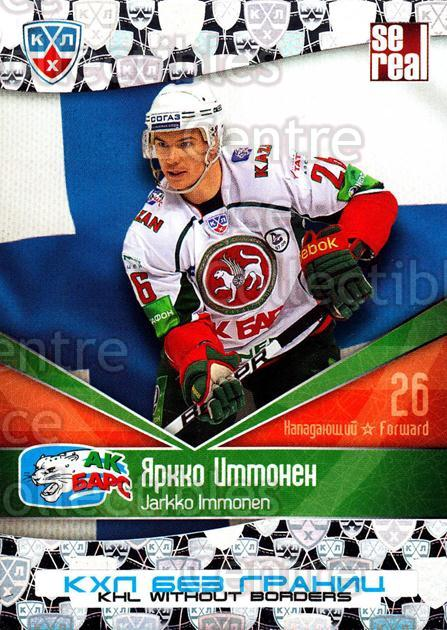 2011-12 Russian KHL AS Series Without Borders #56 Jarkko Immonen<br/>3 In Stock - $2.00 each - <a href=https://centericecollectibles.foxycart.com/cart?name=2011-12%20Russian%20KHL%20AS%20Series%20Without%20Borders%20%2356%20Jarkko%20Immonen...&price=$2.00&code=474253 class=foxycart> Buy it now! </a>