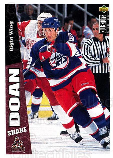 1996-97 Collectors Choice #205 Shane Doan<br/>2 In Stock - $1.00 each - <a href=https://centericecollectibles.foxycart.com/cart?name=1996-97%20Collectors%20Choice%20%23205%20Shane%20Doan...&quantity_max=2&price=$1.00&code=47433 class=foxycart> Buy it now! </a>