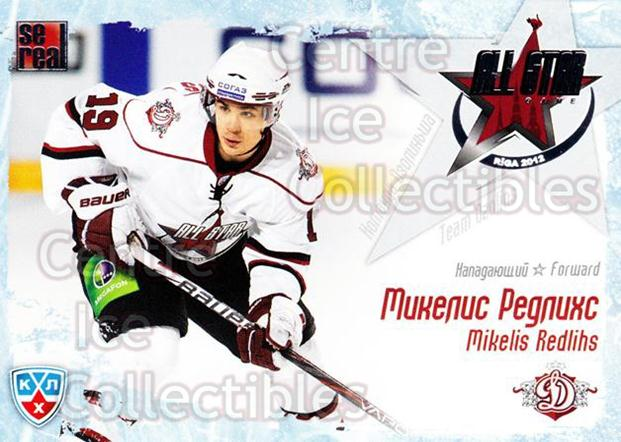 2011-12 Russian KHL AS Series #3 Mikelis Redlihs<br/>6 In Stock - $2.00 each - <a href=https://centericecollectibles.foxycart.com/cart?name=2011-12%20Russian%20KHL%20AS%20Series%20%233%20Mikelis%20Redlihs...&price=$2.00&code=474362 class=foxycart> Buy it now! </a>