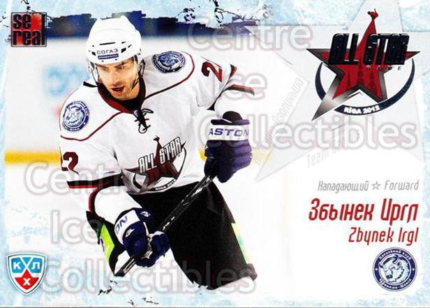 2011-12 Russian KHL AS Series #5 Zbynek Irgl<br/>6 In Stock - $2.00 each - <a href=https://centericecollectibles.foxycart.com/cart?name=2011-12%20Russian%20KHL%20AS%20Series%20%235%20Zbynek%20Irgl...&price=$2.00&code=474364 class=foxycart> Buy it now! </a>