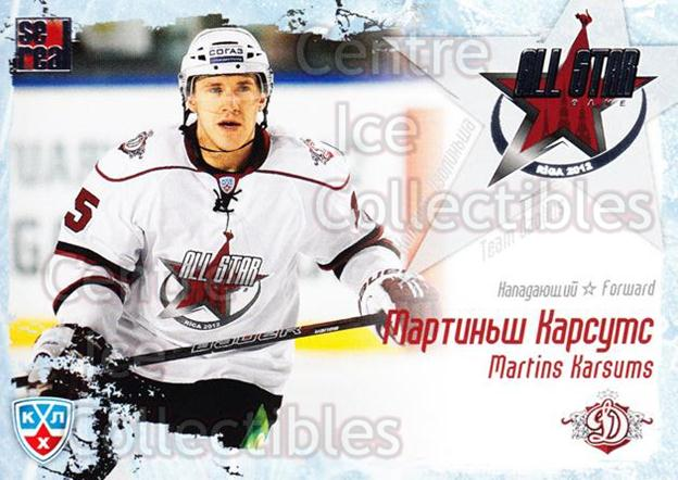 2011-12 Russian KHL AS Series #16 Martins Karsums<br/>7 In Stock - $2.00 each - <a href=https://centericecollectibles.foxycart.com/cart?name=2011-12%20Russian%20KHL%20AS%20Series%20%2316%20Martins%20Karsums...&price=$2.00&code=474375 class=foxycart> Buy it now! </a>