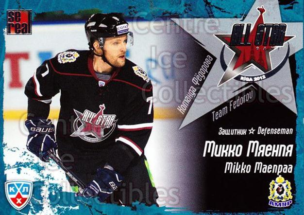 2011-12 Russian KHL AS Series #26 Mikko Maenpaa<br/>7 In Stock - $2.00 each - <a href=https://centericecollectibles.foxycart.com/cart?name=2011-12%20Russian%20KHL%20AS%20Series%20%2326%20Mikko%20Maenpaa...&price=$2.00&code=474385 class=foxycart> Buy it now! </a>