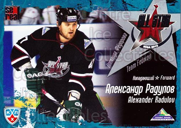2011-12 Russian KHL AS Series #28 Alexander Radulov<br/>6 In Stock - $2.00 each - <a href=https://centericecollectibles.foxycart.com/cart?name=2011-12%20Russian%20KHL%20AS%20Series%20%2328%20Alexander%20Radul...&price=$2.00&code=474387 class=foxycart> Buy it now! </a>