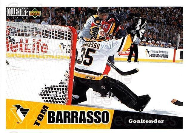 1996-97 Collectors Choice #213 Tom Barrasso<br/>3 In Stock - $1.00 each - <a href=https://centericecollectibles.foxycart.com/cart?name=1996-97%20Collectors%20Choice%20%23213%20Tom%20Barrasso...&price=$1.00&code=47441 class=foxycart> Buy it now! </a>