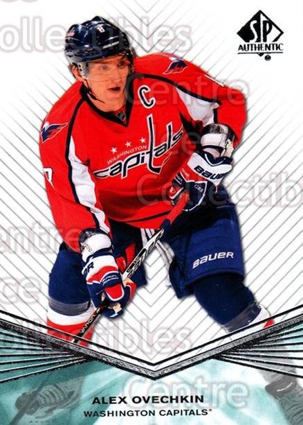 2011-12 Sp Authentic #18 Alexander Ovechkin<br/>6 In Stock - $2.00 each - <a href=https://centericecollectibles.foxycart.com/cart?name=2011-12%20Sp%20Authentic%20%2318%20Alexander%20Ovech...&price=$2.00&code=474912 class=foxycart> Buy it now! </a>