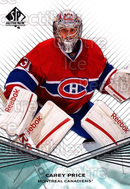 2011-12 Sp Authentic #23 Carey Price<br/>4 In Stock - $2.00 each - <a href=https://centericecollectibles.foxycart.com/cart?name=2011-12%20Sp%20Authentic%20%2323%20Carey%20Price...&price=$2.00&code=474917 class=foxycart> Buy it now! </a>