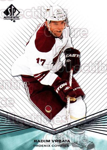 2011-12 Sp Authentic #87 Radim Vrbata<br/>8 In Stock - $1.00 each - <a href=https://centericecollectibles.foxycart.com/cart?name=2011-12%20Sp%20Authentic%20%2387%20Radim%20Vrbata...&quantity_max=8&price=$1.00&code=474981 class=foxycart> Buy it now! </a>