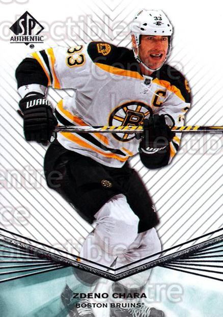 2011-12 Sp Authentic #109 Zdeno Chara<br/>6 In Stock - $1.00 each - <a href=https://centericecollectibles.foxycart.com/cart?name=2011-12%20Sp%20Authentic%20%23109%20Zdeno%20Chara...&quantity_max=6&price=$1.00&code=475003 class=foxycart> Buy it now! </a>