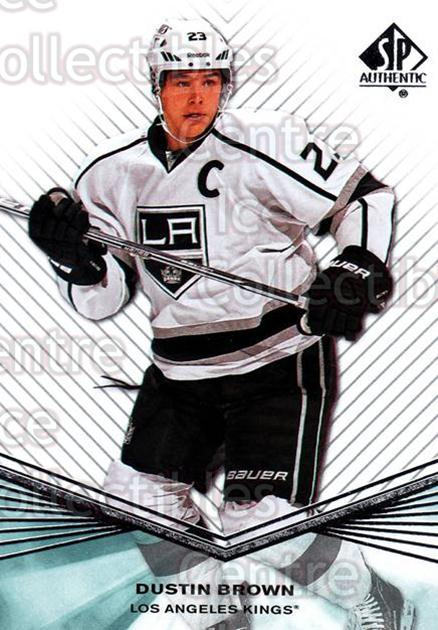 2011-12 Sp Authentic #150 Dustin Brown<br/>8 In Stock - $1.00 each - <a href=https://centericecollectibles.foxycart.com/cart?name=2011-12%20Sp%20Authentic%20%23150%20Dustin%20Brown...&quantity_max=8&price=$1.00&code=475044 class=foxycart> Buy it now! </a>
