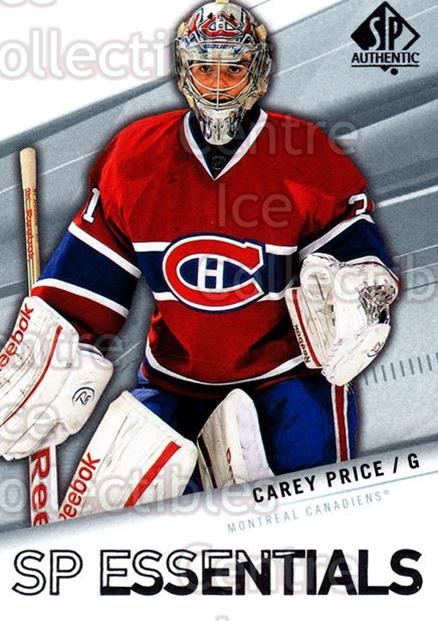 2011-12 Sp Authentic #165 Carey Price<br/>1 In Stock - $3.00 each - <a href=https://centericecollectibles.foxycart.com/cart?name=2011-12%20Sp%20Authentic%20%23165%20Carey%20Price...&price=$3.00&code=475059 class=foxycart> Buy it now! </a>
