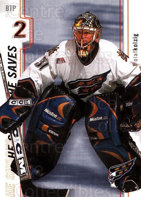 2002-03 Between the Pipes Points #14 Olaf Kolzig<br/>2 In Stock - $2.00 each - <a href=https://centericecollectibles.foxycart.com/cart?name=2002-03%20Between%20the%20Pipes%20Points%20%2314%20Olaf%20Kolzig...&quantity_max=2&price=$2.00&code=475224 class=foxycart> Buy it now! </a>